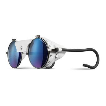 Julbo VERMONT - Sunglasses - gun white/multilayer blue