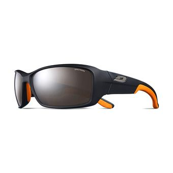 Julbo RUN - Sunglasses - black orange/flash silver