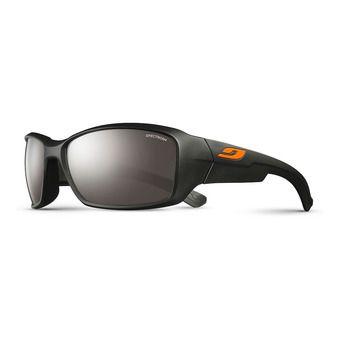 Occhiali da sole WHOOPS nero opaco/flash argento
