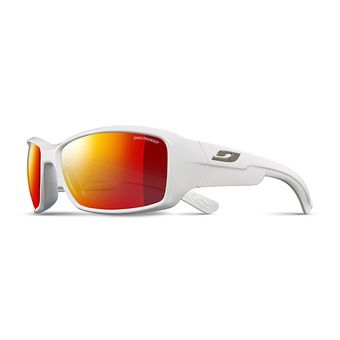 Julbo WHOOPS - Sunglasses - gloss white/multilayer red