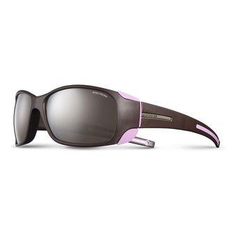 Julbo MONTEROSA - Gafas de sol mujer aubergine/pink/flash silver