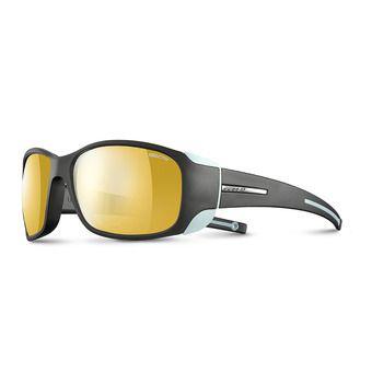 Julbo MONTEROSA - Gafas de sol fotocromáticas mujer anthracite/blue menthe/flash gold