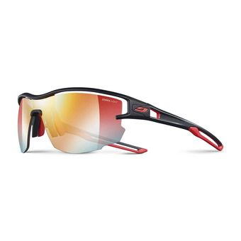 Julbo AERO - Photochromic sunglasses - black red/multilayer red