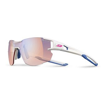 Julbo AEROLITE - Photochromic sunglasses - white blue grey/multilayer blue