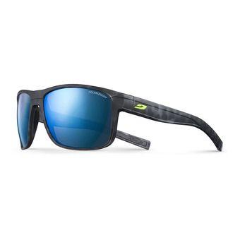 Julbo RENEGADE - Gafas de sol polarizadas tortoiseshell black mat/black/multilayer blue