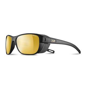 Julbo CAMINO - Lunettes de soleil photochromiques Homme noir mat gris/flash or