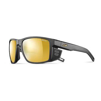 Julbo SHIELD - Occhiali da sole fotocromatici nero/nero/flash oro