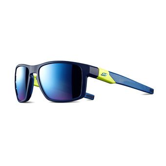 Julbo STREAM - Sunglasses - darkblue green/multilayer blue