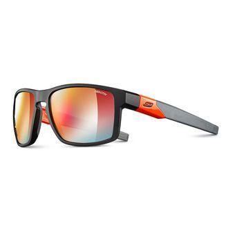 Lunettes de soleil photochromiques STREAM noir/orange fluo/multilayer rouge
