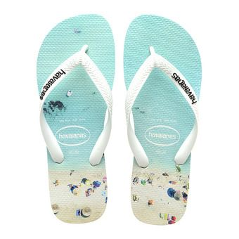 Havaianas HYPE - Chanclas hombre white/water
