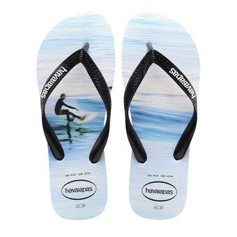 Havaianas HYPE - Tongs Homme white/wave