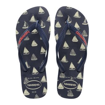 Havaianas TOP PHOTOPRINT - Tongs Homme navy blue/navy blue