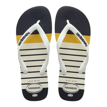 Havaianas TOP PHOTOPRINT - Tongs Homme white/white