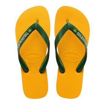 Tongs BRASIL LOGO banana yellow
