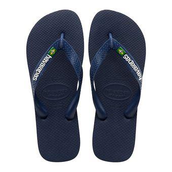 Havaianas BRASIL LOGO - Flip-Flops - navy blue