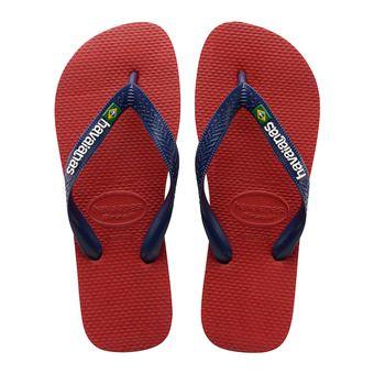 Havaianas BRASIL LOGO - Flip-Flops - red