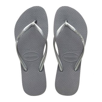 Havaianas SLIM - Flip-Flops - Women's - steel grey