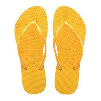 Havaianas SLIM - Tongs Femme banana yellow