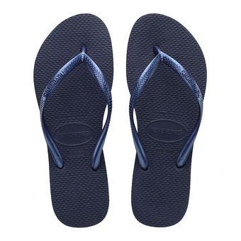 Havaianas SLIM - Flip-Flops - Women's - navy blue
