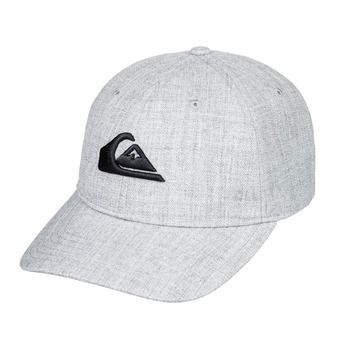 Quiksilver CHARGER PLUS - Casquette Homme light grey heather