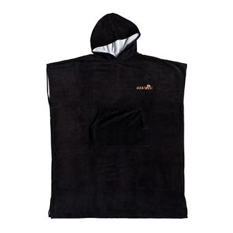 Quiksilver HOODY - Poncho surf Homme tarmac