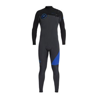 Full Wetsuit 3/2mm - Men's - SYNCRO SERIES graphite/black/deep cyanine