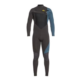 Quiksilver HIGHLINE PLUS - Combinaison 3/2mm Homme jet black/blue steel
