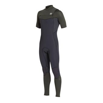 SS Full Wetsuit - 2/2mm Men's - FURNACE ABSOLUTE COMP CZ black/olive