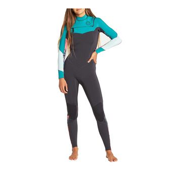 LS Full Wetsuit - 3/2mm Women's - SALTY DAYZ CZ palm green