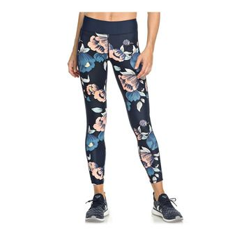 Roxy SPY GAME - Legging Donna dress blues full flowers fit