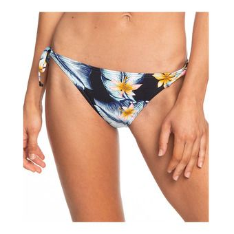 Roxy DREAMING DAY REGULAR - Bas maillot de bain Femme anthracite tropical loves