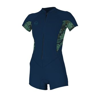 SS Springsuit 2/1mm - Women's - BAHIA FZ abyss/faro/abyss