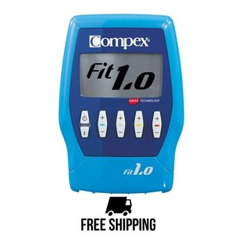 Compex FIT 1.0 - Elettrostimolatore blu