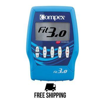 Compex FIT 3.0 - Electroestimulador blue