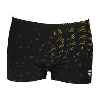 Arena ONE TUNNEL VISION - Swimming Trunks - Men's - black/yellow star