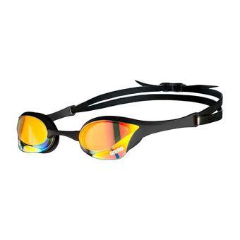 Arena COBRA ULTRA SWIPE MIRROR - Occhialini da nuoto yellow copper/black