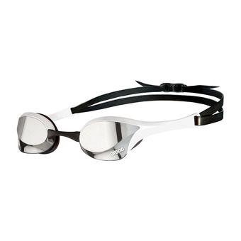 Arena COBRA ULTRA SWIPE MIRROR - Occhialini da nuoto silver/white
