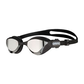 Arena COBRA TRI SWIPE MIRROR - Swimming Goggles - silver/black