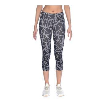 Arena GYM - Legging 3/4 Donna carbonics pro/black