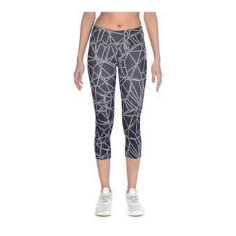 Arena GYM - Mallas 3/4 mujer carbonics pro/black