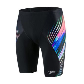 Speedo ECHOFOCUS PLACEMENT DIGITAL V - Jammer hombre black/multi