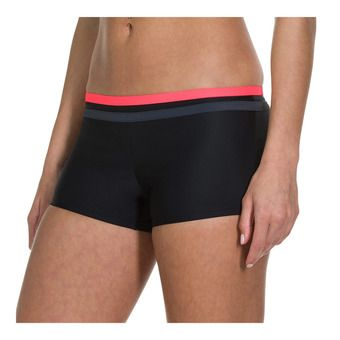 Speedo HYDRACTIVE - Swimming Shorts - Women's - black/red