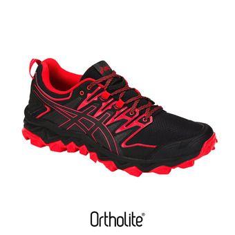 Asics GEL-FUJITRABUCO 7 - Zapatillas de trail hombre black/classic red