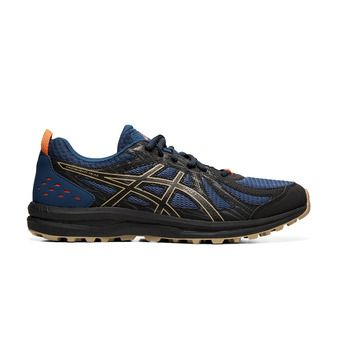 Asics FREQUENT TRAIL - Chaussures trail Homme mako blue/black