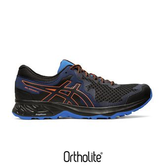 Asics GEL-SONOMA 4 - Chaussures trail Homme black/flash coral
