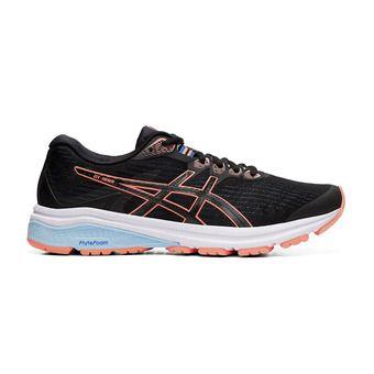 Asics GT-1000 8 - Chaussures running Femme black/sun coral