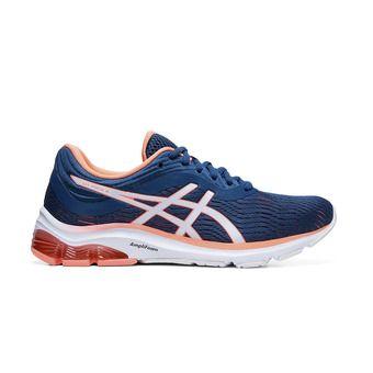Asics PULSE 11 - Zapatillas de running mujer mako blue/sun coral