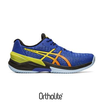 Asics SKY ELITE FF - Chaussures volley Homme blue/sour yuzu