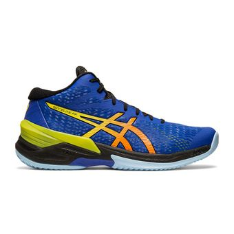 Asics SKY ELITE FF MT - Chaussures volley Homme blue/sour yuzu