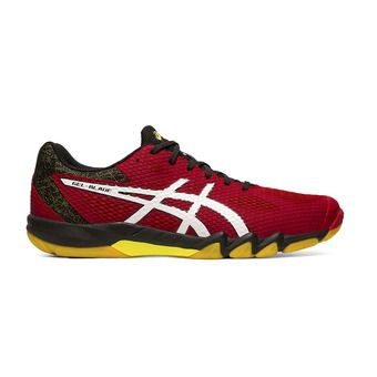 Asics GEL-BLADE 7 - Chaussures badminton Homme speed red/white